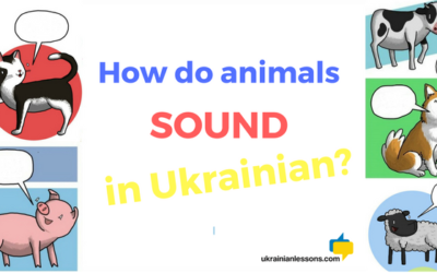 How do animals sound in Ukrainian?